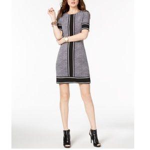 Michael Kors Stingray Border Print Shift Dress